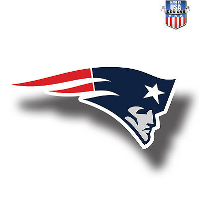 539dcc973f6 New England Patriots NFL Football Color Logo Sports Decal Sticker Free  Shipping
