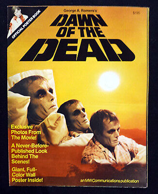 Original George A Romero Dawn of the Dead 1978 Official Poster Book MINT EX COND