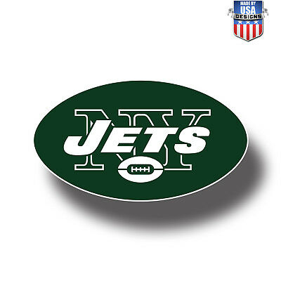 New York Jets NFL Football Color Logo Sports Decal Sticker  Free Shipping