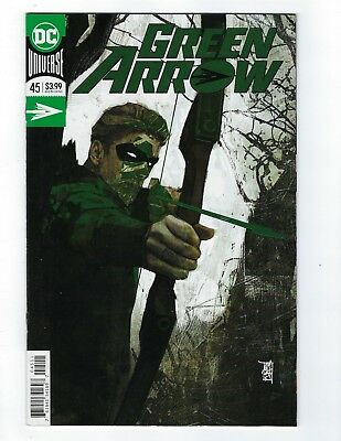 Green Arrow # 45 Regular Foil Cover NM DC