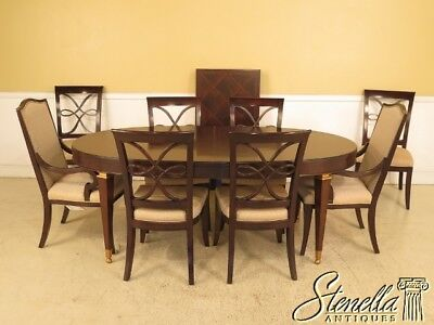 L42326: DREXEL Mahogany Dining Room Table & Chairs Set ~ NEW
