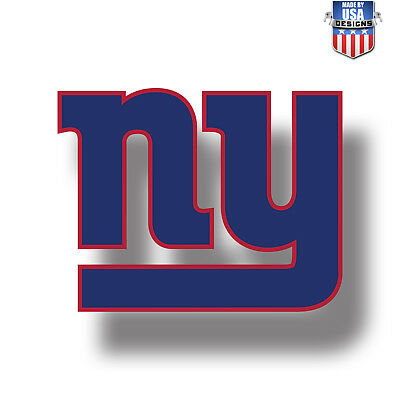 New York Giants NFL Football Color Logo Sports Decal Sticker - Free Shipping