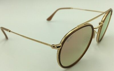 b0cd149979c8d6 RAY BAN 3647-N 001 7O Sunglasses -Round Gold w  Copper Gradient Flash Lens