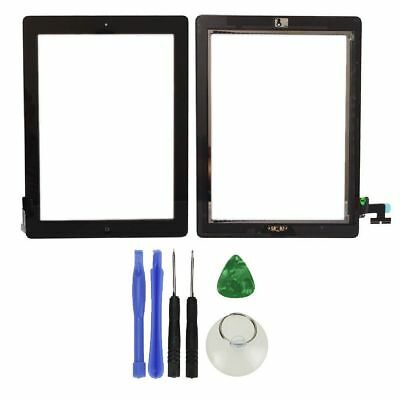 OEM Quality iPad 2 Replacement Touch Screen Digitizer with Adhesive &Home Button