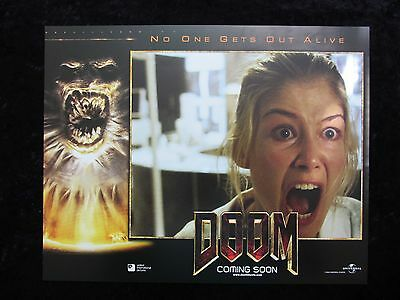 DOOM lobby card # 8 - ROSAMUND PIKE