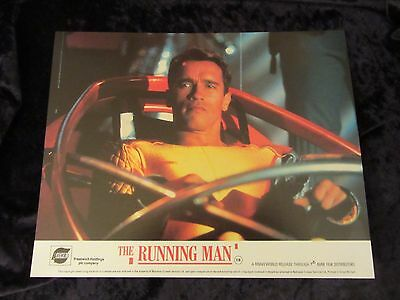 THE RUNNING MAN  lobby cards  - ARNOLD SCHWARZENEGGER