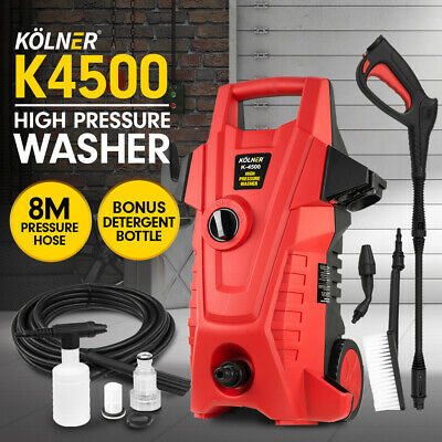 Kolner 3100psi Cleaner Electric Pressure Washer Gurney Pump Hose Water Jet Gun