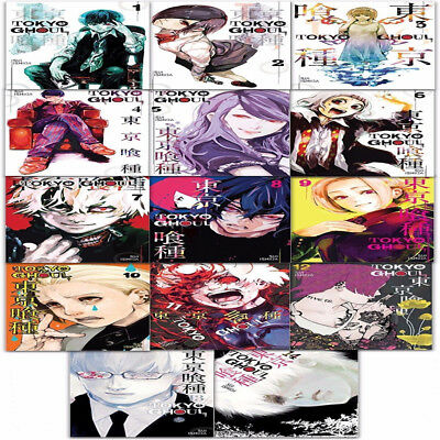 Tokyo Ghoul Volume 14 Books Set by Sui Ishida Anime & Manga Series NEW Paperback