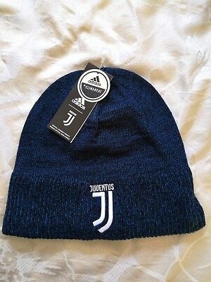 Adidas Climaheat Juventus Beanie Hat Official Brand New with Tags