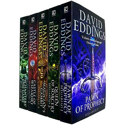 The Belgariad Series 5 Books Collection Set By David Eddings Paperback NEW Book
