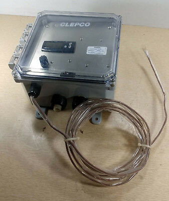 1 New Clepco C167Lp4T-N4X Heater Controller Nnb ***Make Offer***