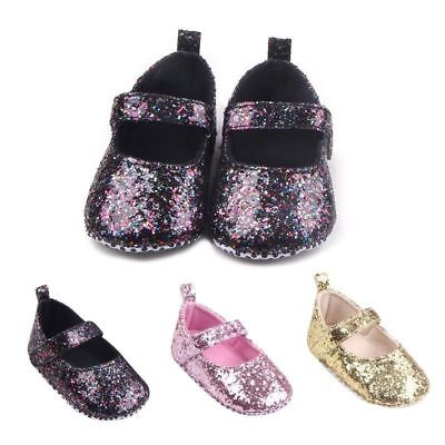 0-12M Newborn Baby Girl Cute Crib Shoes Toddler Soft Sole Casual Anti-Slip Shoes