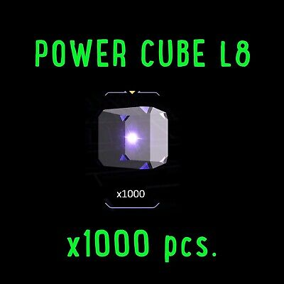 INGRESS -Power Cube L8 x 1000 pcs.