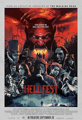HellFest side 27x40 Son of Monster Authentic DS Movie Poster Hell Fest Nice!