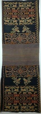 Traditional tubular women's skirt, sarong, Roti, Indonesia,