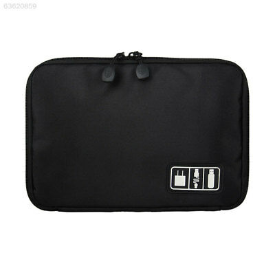 4E62 Travel Electronic Accessories Cable USB Drive Organizer Bag Insert Case