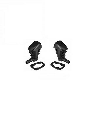 2 X Front Windscreen Washer Jet Nozzle - Jeep Grand Cherokee Wk Wh 05-10 6.1L V8