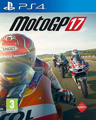 MotoGP 17 For PS4 (New & Sealed)