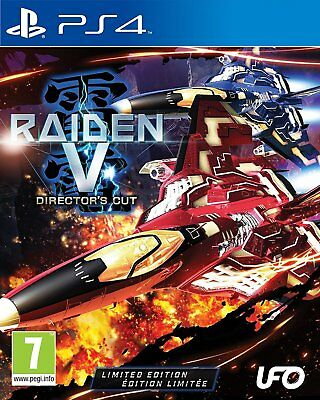 Raiden V - Director's Cut Limited Edition For PS4 (New & Sealed)