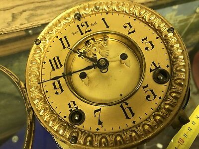 Antique Clock Movement.