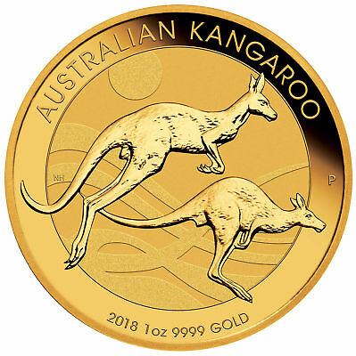 Wire Payment Only - Lot of 10 - 2018 $100 1oz Gold Australian Kangaroo .9999 BU