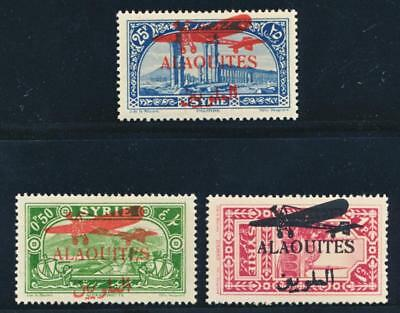 Alaouites C17-19 Mint Hinged, Airplane