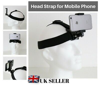 Designo® Head Strap Harness Mount Holder for Mobile Phone iPhone Samsung HTC