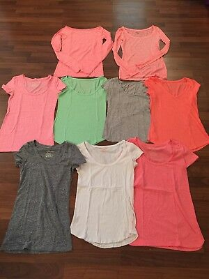 Huge Lot Womens American Eagle Tops Shirts XS Swoop And V Neck Favorite Baby Tee