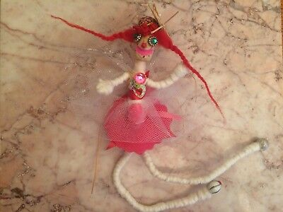Super Ethereal Good Luck Wishing Fairy Occult Pagan Witchcraft Doll