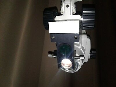 WALLACH Zoomscope Colposcope With Nikon Optics  on rolling stand