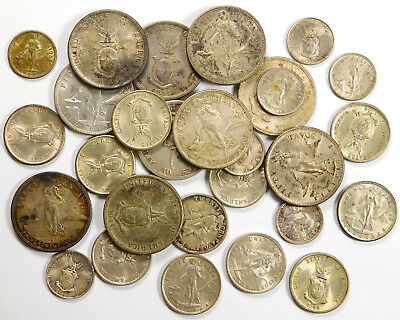 US Philippines Silver Coin Lot - 3.80 Ozt Total!