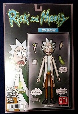 Rick and Morty Issue #42 MIKE VASQUEZ LTD 500  *We Combine Shipping*
