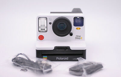 Genuine Polaroid One Step 2 Viewfinder I-Type Instant Film Camera - White