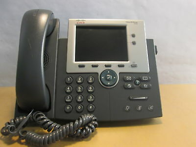Cisco 7945 Series CP-7945G IP Business Phone VoIP Telephone