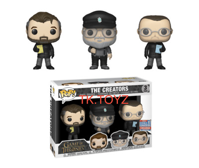 Funko Pop! TV: Game of Thrones - Creators NYCC 2018 Shared Exclusive