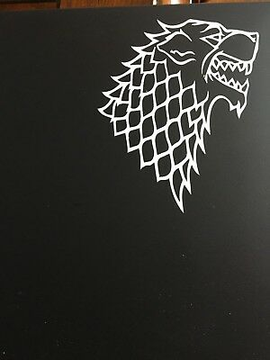 Game of Thrones - House of Stark Vinyl Decal for Macbook/Laptop/Automobile