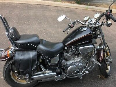 1987 Yamaha Virago 1100CC 1100 Cruiser V-Twin Chrome Low Miles 1100 cc near mint condition collectable  12k miles rides well