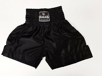 Boxing short Black satin