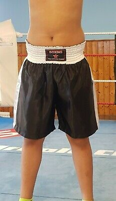 Boxing shorts  Black & White