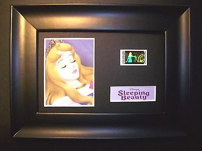 SLEEPING BEAUTY Framed Movie Film Cell Memorabilia - Compliments poster dvd book
