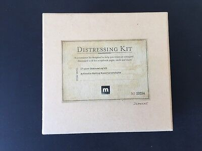 Distressing Kit - Aging & Antiqued - Scrapbook - 20+ pieces - Making Memories