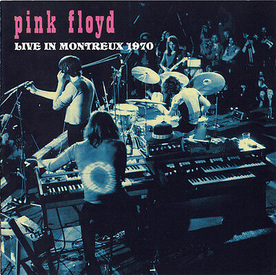 "PINK FLOYD : ""LIve In Montreux 1970"" (selten 2 CD)"