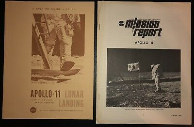 NASA/Kennedy Space Center Apollo 11 Booklets Lunar Landing/Mission Report