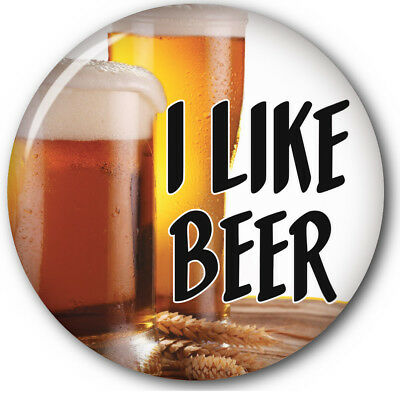 """Set Of 3 I Like Beer Kavanaugh Buttons 3"""" Safety Pin Halloween Costume Cosplay"""