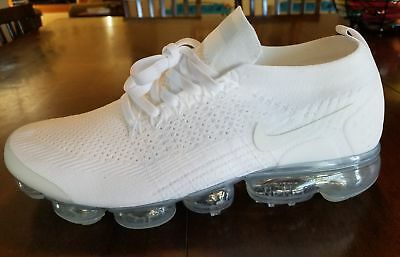 91feae5bcaf NIKE Men s Air Vapormax Flyknit 2 Running Shoes (White) Training Shoes Size  11