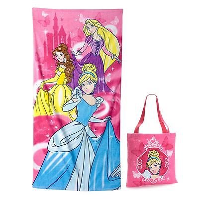 Disney Princess 2-pc. Beach Towel & Tote Set by Jumping Beans - NWT