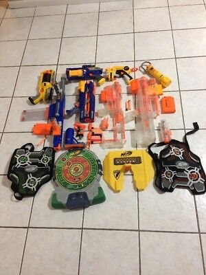 NERF GUN LOT And More  15+ Items