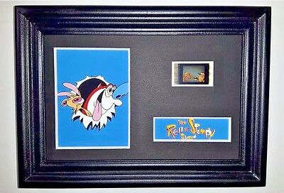 REN AND STIMPY Framed Movie Film Cell Collectible Complements poster dvd book