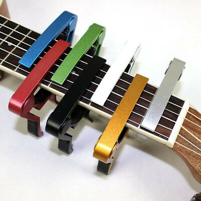 High Quality Acoustic Electric Guitar Capo Trigger Quick Change Key Clamp New