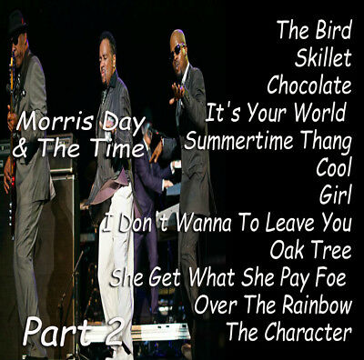 The Very Best Of Part 2 The Time & Morris Day DJ Compilation Mix CD